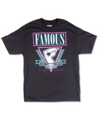 Famous Stars And Straps Famous Stars And Straps Men's Family Forever T Shirt Black