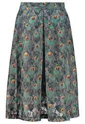 Louche Hasin Pleated Skirt Multi Coloured Multicoloured