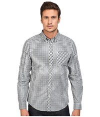 Ben Sherman Long Sleeve House Check Woven Shirt Pine Grove Men's Long Sleeve Button Up Olive