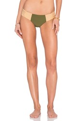 Stone Fox Swim Capri Bottom Olive