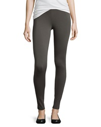 Vince Stretch Twill Pull On Leggings Charcoal