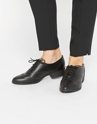 New Look Letty Black Pointed Flat Shoes