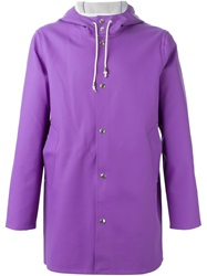 'Stockholm' Parka Pink And Purple