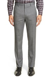 Men's Theory 'Marlo Harrismith' Flat Front Check Wool Trousers