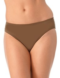 Anne Cole Midrise Bikini Bottom Olive Green