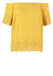 More And More Blouse Golden Curry Yellow