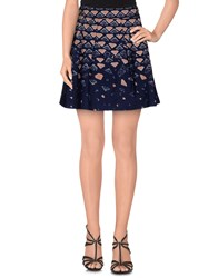 Alysi Skirts Mini Skirts Women Dark Blue