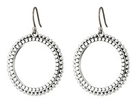 Lucky Brand Silver Dangle Hoop Earrings Silver Earring