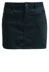 Edc By Esprit Mini Skirt Emerald Night Dark Green