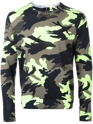 Kent And Curwen Camouflage Slim Fit Jumper