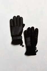 Urban Outfitters Fleece Glove Black