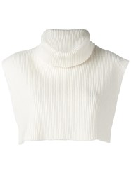 Ports 1961 Knitted Vest White