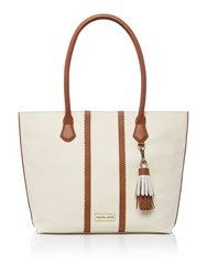 Dickins And Jones Harbury Tote Handbag Porcelain