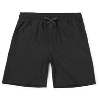 A.P.C. Outdoor Voices Stretch Shell Shorts Charcoal