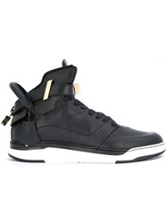 Buscemi B Court Sneakers Black