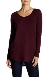 Abound Long Sleeve Basic Tee Red
