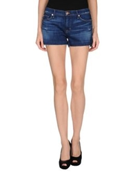 Hudson Denim Shorts Blue