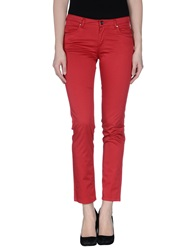Fairly Casual Pants Red