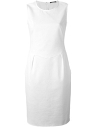 Odeeh Fitted Sleeveless Dress