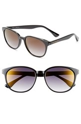 Women's Isaac Mizrahi New York Retro Sunglasses Black