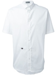 Christian Dior Dior Homme Short Sleeve Shirt White