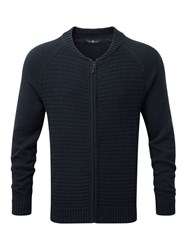 Henri Lloyd Fen Full Zip Knit Navy