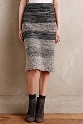 Maeve Sweaterknit Pencil Skirt Grey Motif