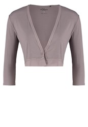 S.Oliver Cardigan Taupe