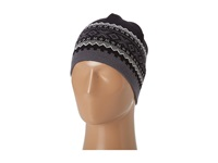 Dale Of Norway Kongsvollen Hat F Black Schiefer Off White Knit Hats
