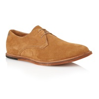 Frank Wright Sheen Lace Up Casual Oxford Shoes Brown