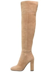 Bruno Premi High Heeled Boots Sand Camel