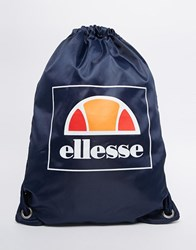 Ellesse Drawstring Backpack Blue
