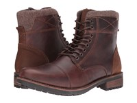 Steve Madden Sargeant Wood Men's Lace Up Boots Brown