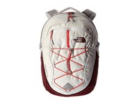 The North Face Women's Borealis Lunar Ice Grey Melon Red Backpack Bags White