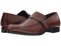 Mezlan 16030 Cognac Men's Slip On Dress Shoes Tan