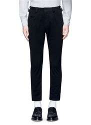 Nanamica Pleated Felt Pants Black