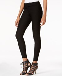 Guess Ultra Stretch Faux Pocket Leggings Jet Black