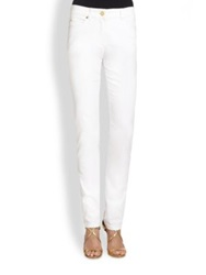 Escada Stretch Skinny Jeans White