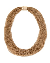 Multi Strand Monili Collar Necklace Brunello Cucinelli