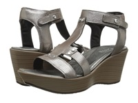 Naot Footwear Valencia Silver Threads Leather Women's Sandals