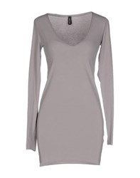 Gotha Dresses Short Dresses Women Dove Grey