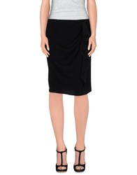 Joseph Skirts Knee Length Skirts Women Black
