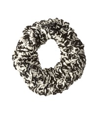 Bcbgeneration Chunky Two Tone Cowl Scarf Black Scarves