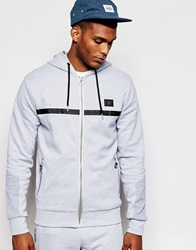 Creative Recreation Pique Zip Up Hoodie Grey