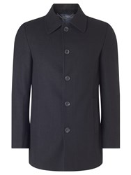 John Lewis Regular Fit Car Coat Black