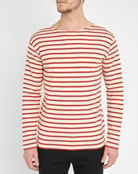Armor Lux Ecru Red Classic Sailor Stripe Top