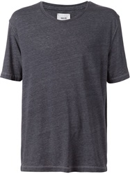 Fadeless Boxy Fit T Shirt Blue