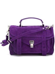 Proenza Schouler Medium 'Ps1' Satchel Pink And Purple