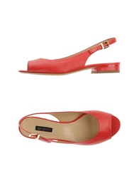 Del Gatto Sandals Red