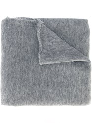 Poeme Bohemien Plain Scarf Grey